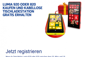 Nokia Germany Offering Free Wireless Charging Plate With Lumia 920 or 820 Purchase
