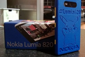 Awesome Pikachu 3D-Printed Lumia 820 shell