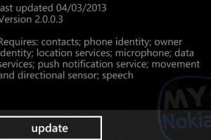 Twitter for Windows Phone slight update again on my 920…