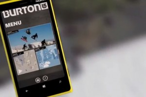 Video: Burton mobile app, exclusively for Nokia Lumia