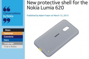 NokConv: New protective shell for the Nokia Lumia 620 – CC-3061