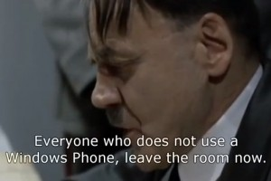 Weekend Watch: Hitler tries to use Xbox Music on Windows Phone 8