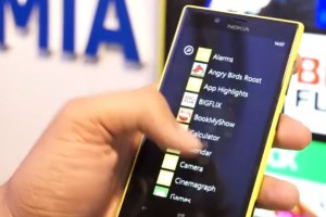 Videos: Nokia Lumia 720 and 520 hands on from Nokia India Launch