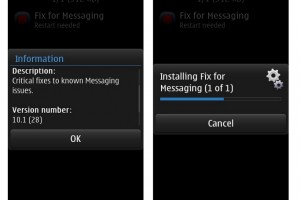 Critical Messaging Fix available for Belle Refresh phones