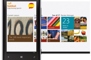 Babbel gives 11 Language learning apps for free on WP8