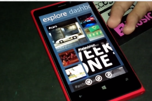Video: Official Tumblr App for WP Demoed on Lumia 920