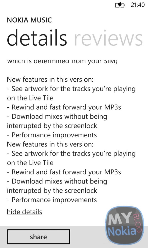lumiappdates  nokia music app updated  u2013 live tile
