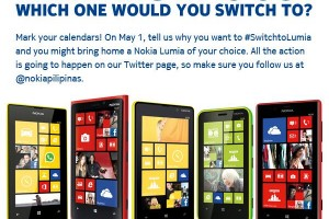 Win a Nokia Lumia of your choice with Nokia Philippines @nokiapilipinas #SwitchToLumia