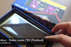 Video: First Nokia Lumia 720 unboxing (Yellow!)