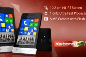 Karbonn Copy: Android Phone with WP8 Live Tiles?