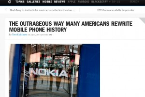 BGR takes a pop at Wired: Outrage at the rewriting of Mobile History
