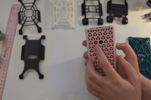 Video: Nokia Lumia 920 custom 3D Printed shells