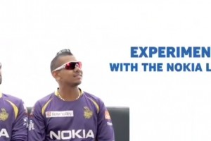 Video: Nokia India Nokia Lumia 520 ad featuring Kolkata Knight Riders.