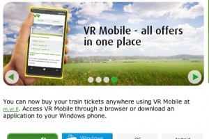 Finnish Railway company VR launch WP app for ticket sales – Android & iPhone coming later