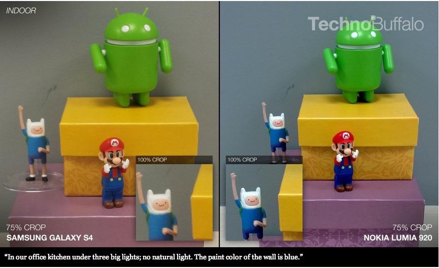 Nokia Lumia 920 vs SGSIV (vs HTC One vs iPhone 5)