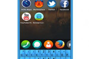 MyDreamNokia #86: Nokia Fire 210 (FireFox OS Qwerty Concept)