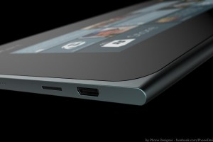 MyDreamNokia #89: Gorgeous, Luxurious metal Nokia Lumia 1 Tablet Concept