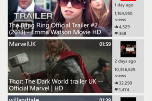 Official Youtube App for WP8 Gets the Overhaul Treatment