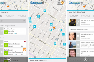 FourSquare for Windows Phone 8 Also Refreshed