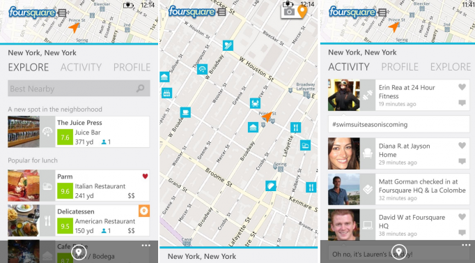 Foursquare New