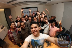 Nokia Meet and Greet (Pre Catwalk launch event) New Nokia Lumia is Coming and we're here to say hello :)