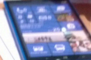 Blurry Cam spots a Cyan Nokia Lumia 1030 Phablet? New tiles layout?!