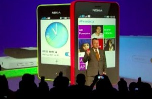 New Asha Platform based on Smarterphone acquisition, with Swipe! Peter Skillman demoing