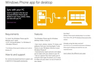 Windows Phone App for Desktop has just been released.