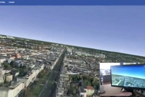 Nokia  HERE Maps and Leap Motion to Merge – Air Gestures to fly 3D Maps