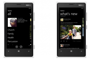 Concept: Windows Phone People Hub Redesigned
