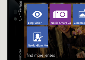Nokia Smart Camera Lens on Nokia Lumia 928 (shutter speed control, manual white balance etc?)