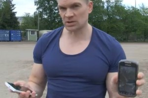 Video: iltalehti.fi endurance tests the Nokia Lumia 920 against Galaxy Xcover 2