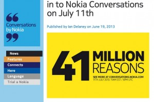 """Nokia EOS"" aka 41MP Nokia WP Confirmed by Nokia Conversations!!!"