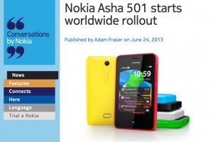 Nokia Asha 501 Worldwide Rollout Begins! (9 Million daily app downloads by S40 alone)