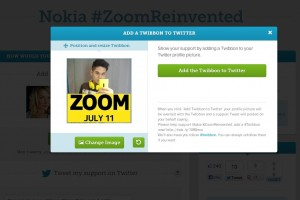 Join Damian Dinning and #TeamYellow, show your Nokia support for July 11 #ZoomReinvented with TwitterBon #EOS #41MP