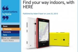 NokConv: Find your way indoors, with HERE (Infographic)