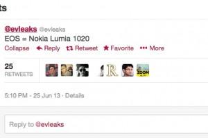 @Evleaks: Nokia EOS AKA Nokia Lumia 1020 #41MP #ZoomReinvented #TeamYellow