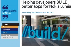Nokia to reveal surprise of some great new apps at //build/, MS's annual developer conference