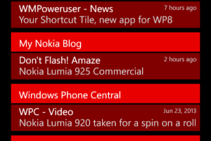WP 8.1 Swipe Down Notification List Unblurred – Jokes, its just an app!