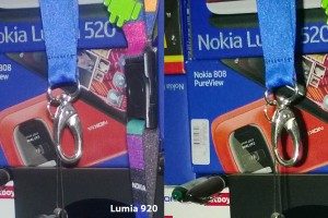 Quick and dirty camera comparison Lumia 920 and Lumia 925