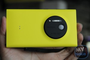 Hands on Gallery of the Nokia Lumia 1020 in Yellow – with wrist strap/lanyard