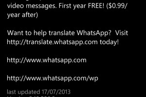 Lumiappdates: Whatsapp updated to v2.10.506.0