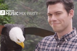 July 4th Independence day Internet Explorer Advert featuring Nokia Lumia 920 and Nokia Mix Party