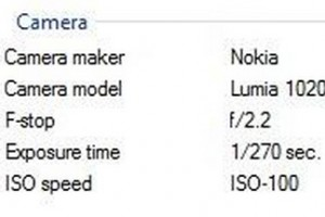 Nokia Lumia 1020 with f/2.2 aperture. OIS still unknown. Will we get optical image stabilising to our 41MP?