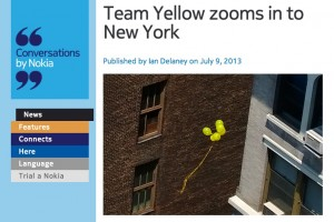 Touchdown: EOS Teaser – #TeamYellow Zooms in to New York!