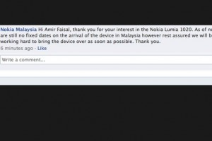 Nokia Malaysia confirms Nokia Lumia 1020 name?