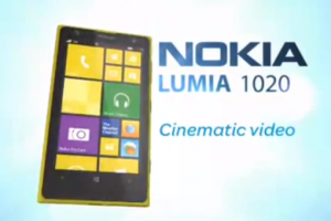 Oops! At&t Releases Lumia 1020 Promo Video