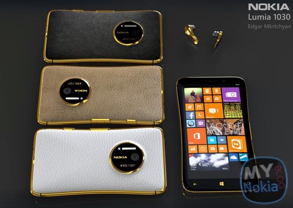 My Dream Nokia #95: Nokia Lumia 1030 41MP Luxury Leather ...