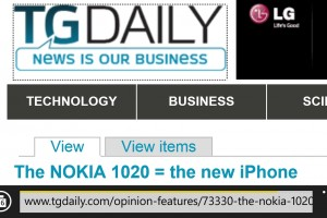Nokia Lumia 1020 – the NEW iPhone?