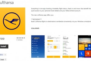 Lumiapps: Lufthansa App Now Available for Nokia Lumia WP8